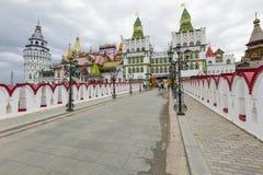 MOSKWA, CZERWIEC - 04: rozrywka Powikłany Kremlin W Izma Obraz Royalty Free