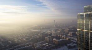 Moskwa dachy zdjęcie royalty free