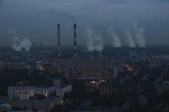 Moskwa dachy obraz royalty free