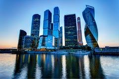 Moskwa drapacze chmur Zdjęcie Stock