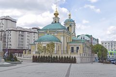 Moskwa, federacja rosyjska - Wrzesień 10, 2017: Lokalizować w Bukh zdjęcie stock