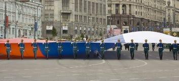 Moskwa, festiwal Obraz Stock