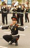 Moskwa, festiwal Fotografia Royalty Free