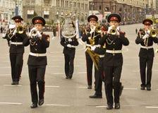 Moskwa, festiwal Zdjęcia Royalty Free