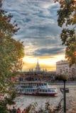 Moskwa jesień Fotografia Royalty Free