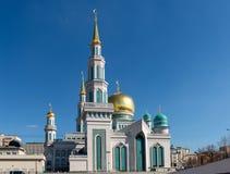Moskwa katedry meczet Zdjęcia Stock