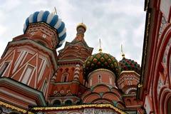 Moskwa kościół niebo Zdjęcie Stock