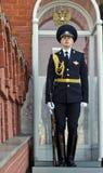 Moskwa Kremlin żołnierz Fotografia Royalty Free