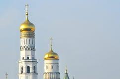 Moskwa Kremlin, dzwonkowy wierza Ivan Veliky Fotografia Royalty Free