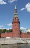 Moskwa Kremlowski widok od rzeki Fotografia Stock