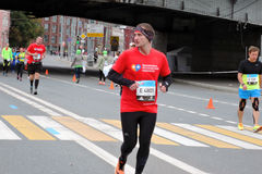 Moskwa maraton Obrazy Royalty Free