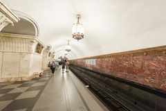 Moskwa metro Fotografia Royalty Free