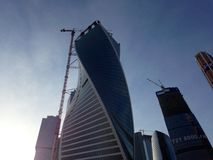 Moskwa miasta kompleks Obrazy Stock