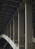 Moskwa most Andreevski obrazy royalty free