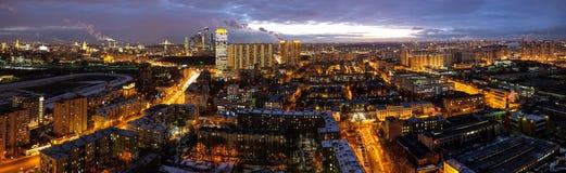 Moskwa noc Obraz Royalty Free