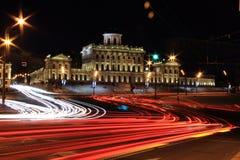 Moskwa noc Obrazy Royalty Free
