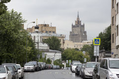Moskwa pas ruchu Obraz Stock