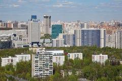 Moskwa pejzaż miejski Fotografia Royalty Free