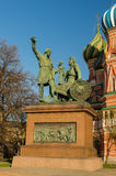 Moskwa, plac czerwony, Zdjęcia Royalty Free