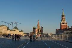 Moskwa, plac czerwony, Zdjęcie Royalty Free