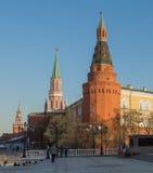 Moskwa, plac czerwony, Obrazy Stock