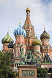 Moskwa placu czerwonego katedralny szczegół Zdjęcie Royalty Free