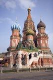 Moskwa Pokrovsky katedra Zdjęcia Royalty Free