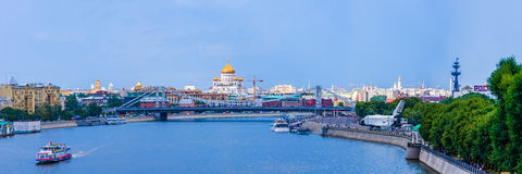 Moskwa przed burzą Część 1 Zdjęcia Stock