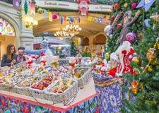 Moskwa przygotowywa dla wakacji obrazy stock