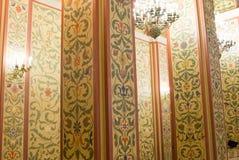MOSKWA, ROSJA - ściana w sala Dziejowy muzeum w Moskwa Zdjęcia Royalty Free