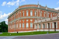 Moskwa Rosja, Czerwiec, - 08, 2016 Chleba dom w muzealnej nieruchomości Tsaritsyno Obraz Stock