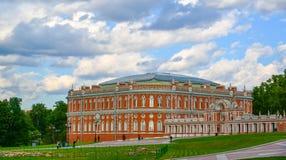Moskwa Rosja, Czerwiec, - 08, 2016 Chleba dom w muzealnej nieruchomości Tsaritsyno Obrazy Stock