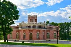 Moskwa Rosja, Czerwiec, - 08, 2016 Kawaleria korpusy w muzealnej nieruchomości Tsaritsyno Obrazy Stock