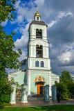 Moskwa Rosja, Czerwiec, - 08, 2016 Kościół ikona MostHoly matka bóg daje wiosna w rezerwie Zdjęcie Royalty Free