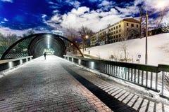 Moskwa, Rosja, Gorkii park 27th Marzec 2018, krajobrazy Obraz Stock