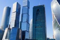 MOSKWA ROSJA, KWIECIEŃ, - 11, 2015 Moskwa centrum biznesu ` Moskwa miasta Międzynarodowy ` Zdjęcia Royalty Free