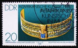 MOSKWA ROSJA, KWIECIEŃ, - 2, 2017: Poczta znaczek drukujący w DDR (Ger Zdjęcia Stock
