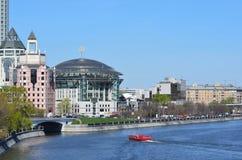 Moskwa, Rosja, Kwiecień, 26,2014, Rosyjska scena: Nikt, Moskwa zawody międzynarodowi dom muzyka i centrum biznesu na Shlyuzovaya  Obraz Royalty Free