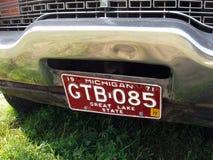 MOSKWA ROSJA, Lipiec, - 15, 2008: Plymouth wściekłości furgonu ` Autoexotic powystawowy 2008 ` Fotografia Stock