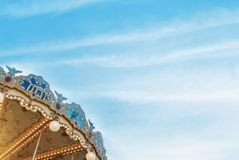 MOSKWA ROSJA, LIPIEC, - 26, 2017: Szczegóły piękny dekorujący c Zdjęcia Royalty Free