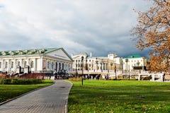 Manege Kwadratowy Moskwa na Listopadzie 07, 2012 Fotografia Royalty Free