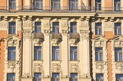 Moskwa, Rosja, Listopad, 22, 2016 Rosyjska scena: nikt, elementy wystrój Hotelowego ` Krajowy ` Poprzedni dom sowieci Zdjęcia Stock