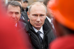 Moskwa Rosja, Listopad, - 24, 2015: Vladimir Putin fotografia stock