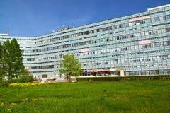Moskwa Rosja, Maj, - 09 2016 Budynki biurowi w południowej strefie przemysłowa Zelenograd Zdjęcie Royalty Free
