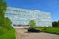 Moskwa Rosja, Maj, - 09 2016 Budynki biurowi w południowej strefie przemysłowa Zelenograd Obrazy Stock