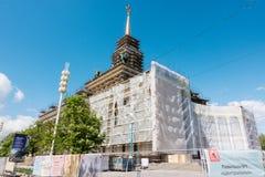 Moskwa Rosja, Maj, - 27, 2017: VDNKh odbudowa budynek Zdjęcie Stock