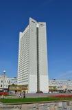 Moskwa Rosja, Maj, - 09 2016 widok budynek biurowy w Zelenograd Zdjęcie Royalty Free