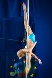 MOSKWA ROSJA, MARZEC, - 22: Słupa sporta elita 2014 na Marzec 22, 2014 w Moskwa, Rosja Fotografia Stock