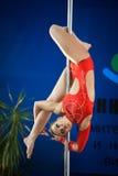 MOSKWA ROSJA, MARZEC, - 22: Słupa sporta elita 2014 na Marzec 22, 2014 w Moskwa, Rosja Zdjęcie Stock