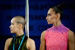 MOSKWA ROSJA, MARZEC, - 22: Słupa sporta elita 2014 na Marzec 22, 2014 w Moskwa, Rosja Obrazy Stock